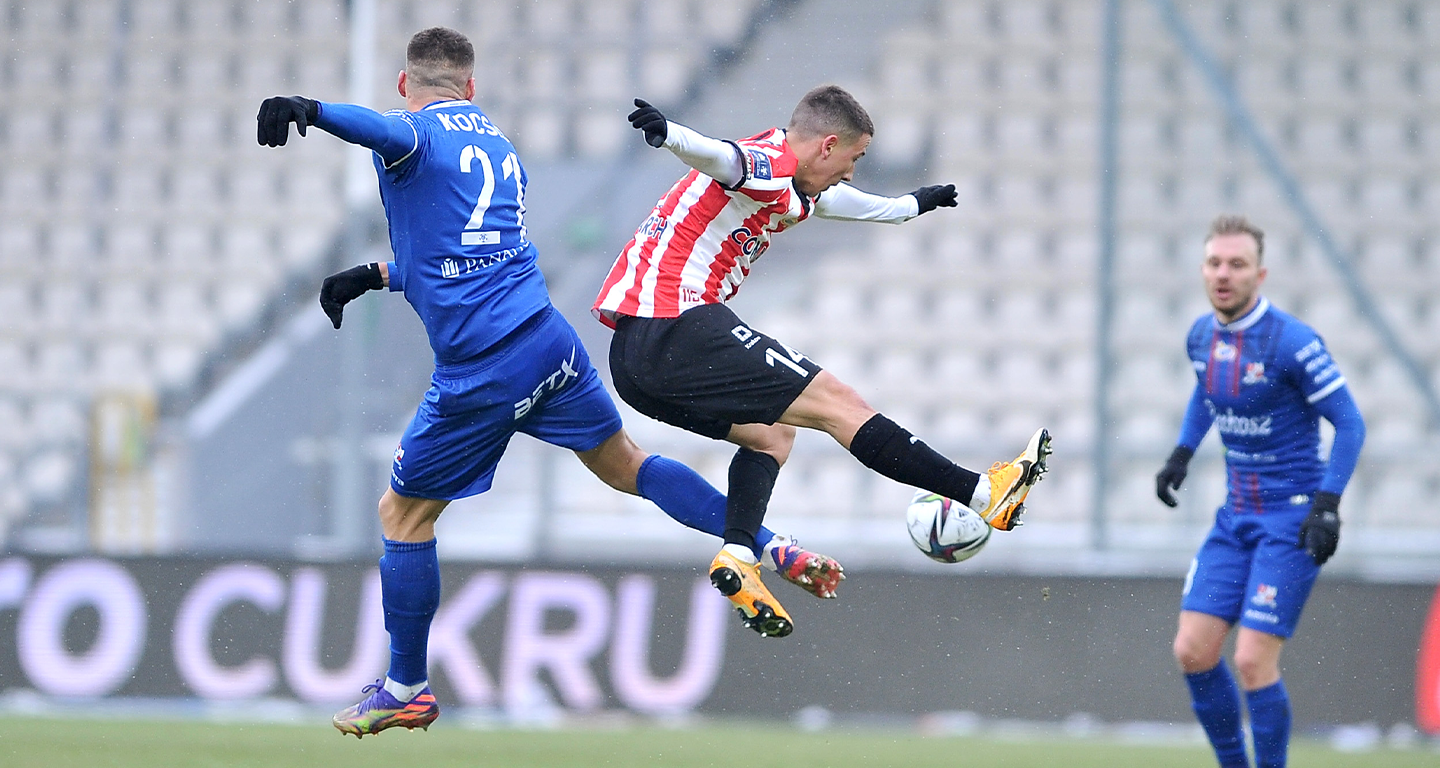 PKO BP Ekstraklasa: A draw against Podbeskidzie