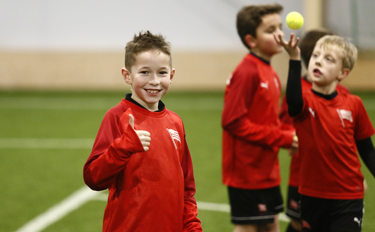 Pasiaste szkoły Cracovia KIDS trenują w Cracovia Training Center [FOTO]