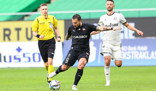 PKO BP EKSTAKLASA: No goals with Legia