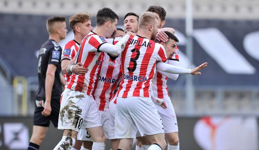 Cracovia beats Gornik Zabrze! 3 points are staying at home.